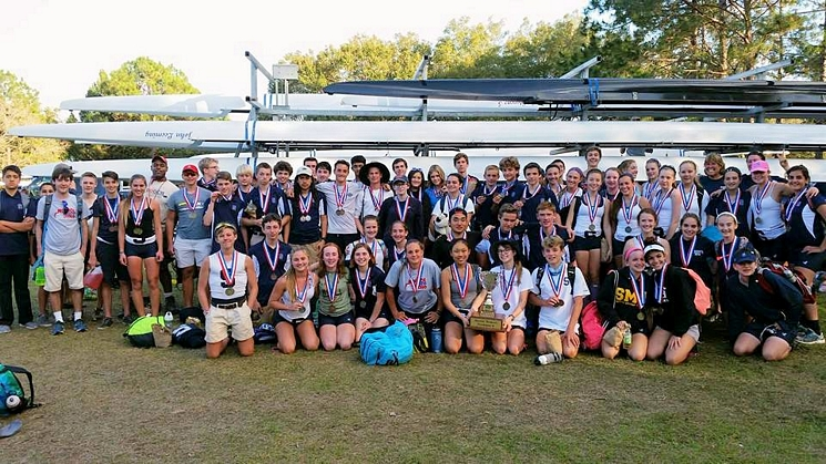 crew_gathering Sarasota Crew - Crew Graduating Classes youth rowing, rowing, masters, masters rowing, middle school, middle school rowing, high school rowing, high school, elementary school rowing, rowing sarasota, pine view, riverview, rowing