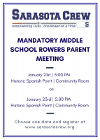 Mandatory Middle School Spring Parent Meeting